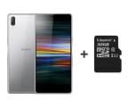 Sony Xperia L3 I4312 3/32GB Dual SIM srebrny + 32GB (1318-6333 + SDCS/32GB)