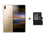 Sony Xperia L3 I4312 3/32GB Dual SIM złoty + 32GB (1318-6334 + SDCS/32GB)