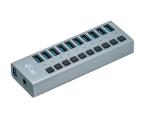 i-tec HUB USB 3.0 (10 portów, ładowanie do 10W) (U3CHARGEHUB10)