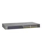 Netgear 28p GS728TP-200EUS (24x100/1000Mbit 4xSFP) PoE  (GS728TP-200EUS)