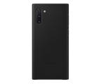Samsung Leather Cover do Galaxy Note 10 czarny (EF-VN970LBEGWW)