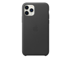Apple Leather Case do iPhone 11 Pro Black (MWYE2ZM/A)