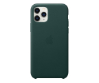 Apple Leather Case do iPhone 11 Pro Forest Green (MWYC2ZM/A)