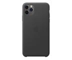 Etui/obudowa na smartfona Apple Leather Case do iPhone 11 Pro Max Black