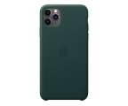 Apple Leather Case do iPhone 11 Pro Max Forest Green (MX0C2ZM/A)
