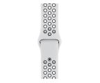 Apple Pasek Sportowy Nike do Apple Watch czysta platyna (MX8D2ZM/A)
