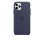 Apple Silicone Case do iPhone 11 Pro Midnight Blue (MWYJ2ZM/A)