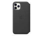 Apple Leather Folio do iPhone 11 Pro Black (MX062ZM/A)