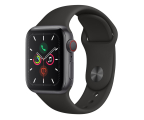 Smartwatch LTE Apple Watch 5 40/Space Gray Aluminium/Black Sport LTE