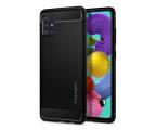 Spigen Rugged Armor do Samsung Galaxy A51 czarny (ACS00563)