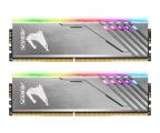 Gigabyte 16GB (2x8GB) 3200MHz CL16 Aorus Silver RGB (GP-AR32C16S8K2HU416R)