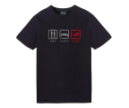 ASUS T-Shirt LifeStyle (czarny, L) (CT2002_black_L)
