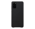 Samsung Leather Cover do Galaxy S20+ Black  (EF-VG985LBEGEU)