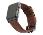 UAG Pasek Skórzany do Apple Watch brązowy (19149B114080)