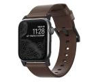 Nomad Pasek Skórzany do Apple Watch brązowo-czarny (NM1A3RBM00)