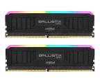 Crucial 16GB (2x8GB) 4000MHz CL18 Ballistix Max Black RGB (BLM2K8G40C18U4BL)