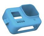 GoPro Silikonowe Etui do HERO8 Black niebieskie (AJSST-003)