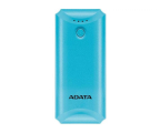 ADATA Power Bank P5000 (5000 mAh, niebieski) (AP5000-USBA-CBL)