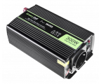 Green Cell Przetwornica napięcia 12V na 230V 300W/600W (INV05DE)