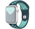 Apple Pasek Sportowy Nike do Apple Watch nocny turkus  (MXR12ZM/A)