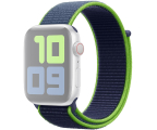 Apple Opaska Sportowa do Apple Watch neonowa limonka  (MXMV2ZM/A)