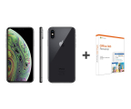 Apple iPhone Xs 64GB Space Gray + Office 365 (MT9E2PM/A + QQ2-00735)