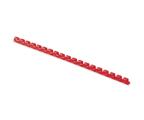 Fellowes Grzbiet plastikowy okrągły 10mm czerwony, 100 szt. (5346004)