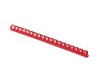 Fellowes Grzbiet plastikowy okrągły 12mm czerwony, 100 szt. (5346404)