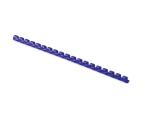 Fellowes Grzbiet plastikowy okrągły 10mm niebieski 100 szt. (5345906)