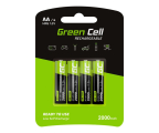 Green Cell 4x AA HR6 2000mAh (GR02)