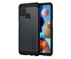 Etui / obudowa na smartfona Spigen Tough Armor do Samsung Galaxy A21s Metal Slate