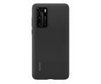 Huawei Plecki silikonowe do Huawei P40 czarne (51993719)