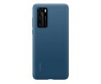 Huawei Plecki silikonowe Huawei do P40 jasno niebieskie (51993721)