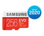 Samsung 256GB microSDXC Evo Plus zapis90MB/s odczyt100MB/s (MB-MC256HA/EU)