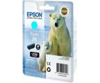 Epson T2612 cyan 4,5ml (C13T26124010) (XP-610/XP-600/XP-605/XP-700/XP800)