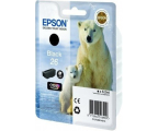 Epson T2601 black 6,2ml (C13T26014010) (XP-610/XP-600/XP-605/XP-700/XP800)