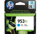 HP 953XL cyan 1600 str. (F6U16AE) (Officejet Pro 7740 / 8700 / 8210 / P27724dw)