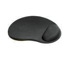 Gembird Ergonomiczna Gel (żelowa) 3mm czarna (MP-GEL-BLACK)