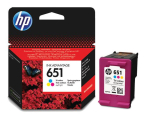 HP 651 C2P11AE CMY color 300str. (DeskJet 5575/5645)