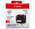 Canon Zestaw 4 tuszów PGI-2500XL C/M/Y/BK (iB4050/MB5050/MB5350)