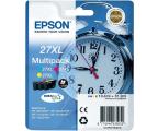 Epson T2715 zestaw tuszów CMY 3x1100str. (C13T27154010)