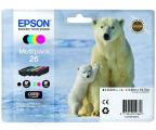 Epson T2616 zestaw 4 tuszów CMYK (C13T26164010) (XP-610)