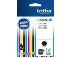 Brother LC529XLBK black 2400str. (DCP-J100/DCP-J105/MFC-J200)