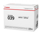 Canon CRG-039 black 11 000 str. (0287C001)