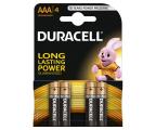 Duracell Basic AAA/LR03 4 szt. (1028097)