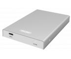 """Unitek Obudowa do dysku 2.5"""" (USB-C, srebrny) (Y-3363)"""