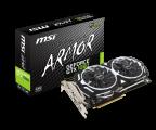 MSI GeForce GTX 1060 Armor OC V1 3GB GDDR5 (GTX 1060 ARMOR 3G OCV1)