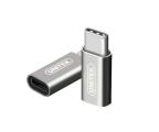 Unitek Adapter micro USB - USB-C (Y-A027AGY)