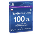 Sony PlayStation Live Card PSN 100 PLN (711719893332)