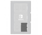 Hori NINTENDO SWITCH GAME CARD CASE 24 (CLEAR) (873124006230)